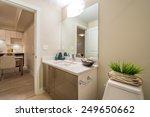 interior design of a spacious...   Shutterstock . vector #249650662