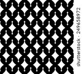 black and white geometric... | Shutterstock .eps vector #249658972