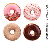 Donuts Collection Isolated On...