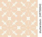 vector seamless pattern.... | Shutterstock .eps vector #249700042