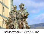 Bronze Statue Of Meriwether...
