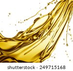 engine oil splashing isolated... | Shutterstock . vector #249715168