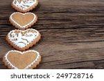 close up still life of cookies... | Shutterstock . vector #249728716