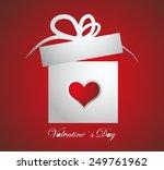 gift box | Shutterstock .eps vector #249761962