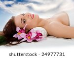attractive woman getting spa... | Shutterstock . vector #24977731