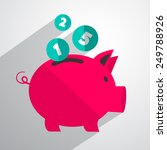 money pig bank illustration