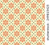 seamless pattern with... | Shutterstock .eps vector #249815425
