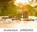 finance and money concept ... | Shutterstock . vector #249820402