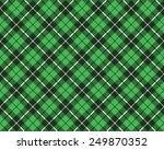 green tartan fabric texture... | Shutterstock .eps vector #249870352