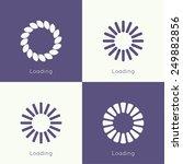 set of vector downloaders....