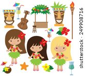 hawaii vector illustration | Shutterstock .eps vector #249908716