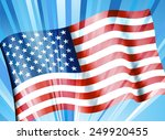 stars and stripes   american... | Shutterstock . vector #249920455