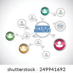 reputation management people... | Shutterstock .eps vector #249941692