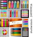 colorful modern text box... | Shutterstock .eps vector #249999916