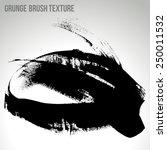 brush stroke and texture.... | Shutterstock .eps vector #250011532