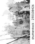 abstract ink paint vector... | Shutterstock .eps vector #250108426