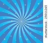 sunburst vector | Shutterstock .eps vector #25011265