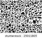 biggest collection of collage... | Shutterstock .eps vector #25011805