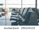 airport seats  afternoon time... | Shutterstock . vector #250154122