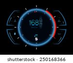 realistic sport car vector...   Shutterstock .eps vector #250168366