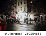 new york city   february 4 2015 ...   Shutterstock . vector #250204858
