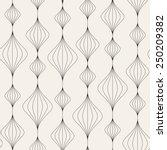 vector seamless pattern. modern ... | Shutterstock .eps vector #250209382