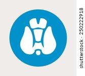 thyroid icon.
