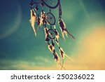Dream Catcher With Sky At...