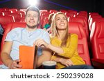 cinema  entertainment and... | Shutterstock . vector #250239028