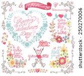 Vintage Floral Card With Flora...