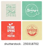 spring typography background... | Shutterstock .eps vector #250318702