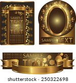 set background labels | Shutterstock .eps vector #250322698
