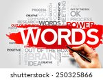 words word cloud  business... | Shutterstock . vector #250325866