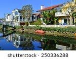 Houses On The Venice Beach...