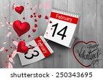 valentines heart design against ...   Shutterstock . vector #250343695