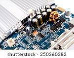 motherboard  computer... | Shutterstock . vector #250360282