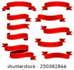 ribbons set. | Shutterstock .eps vector #250382866