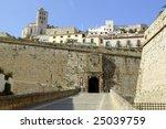 Ibiza From Castle Balearic...
