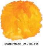 sun. watercolor vector texture | Shutterstock .eps vector #250403545