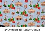 london   january 24. london... | Shutterstock . vector #250404535