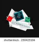 vector fresh business abstract... | Shutterstock .eps vector #250425106