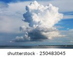 Giant Clouds Over The Sea
