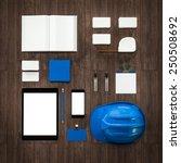 mockup business template.... | Shutterstock . vector #250508692