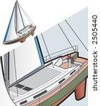 sailboat ship icon. design... | Shutterstock .eps vector #2505440