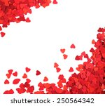 corner frame made of paper... | Shutterstock . vector #250564342