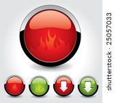 set of buttons for web design.... | Shutterstock .eps vector #25057033