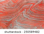 Red rock background - stock photo