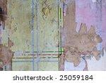 shabby burnt wall   Shutterstock . vector #25059184