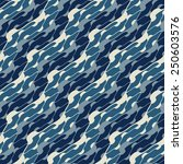 abstract ornate spotty waves... | Shutterstock .eps vector #250603576