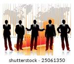 business chart   Shutterstock .eps vector #25061350